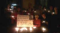 Supporting the people of Syria.