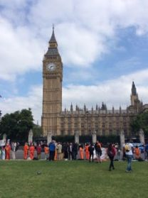 Members of Canterbury AI give their support to the on-going Save Shaker Aamer Campaign which doggedly continues every Wednesday in Parliament Square when the House is sitting.